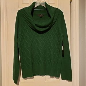 NWT Green Sweater
